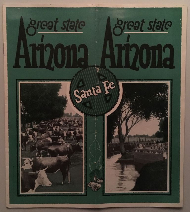 Arizona, a Great State [cover title]
