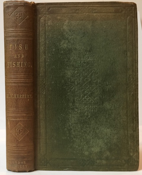 Frank Forester's Fish and Fishing of the United States, and British Provinces of North America. Henry William Herbert.