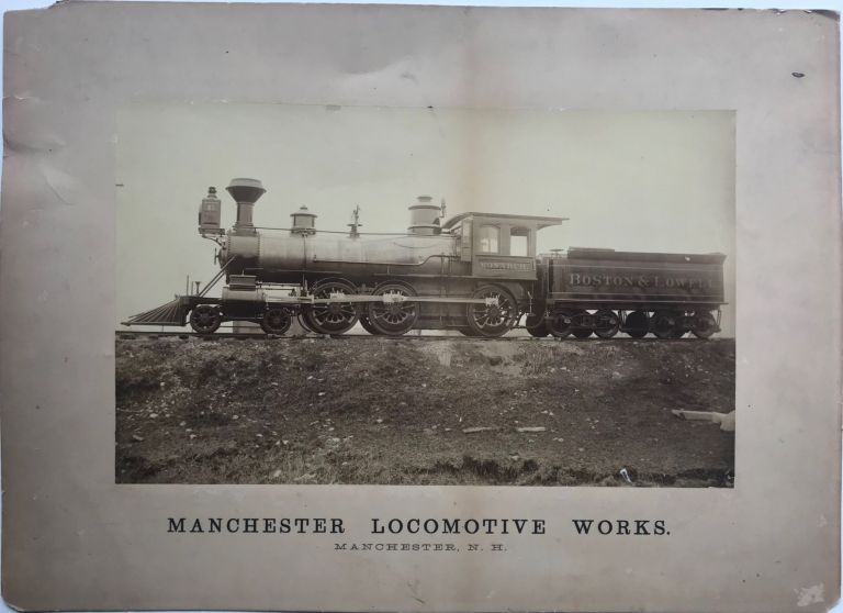 MANCHESTER LOCOMOTIVE WORKS. MANCHESTER, N.H. Photograph.