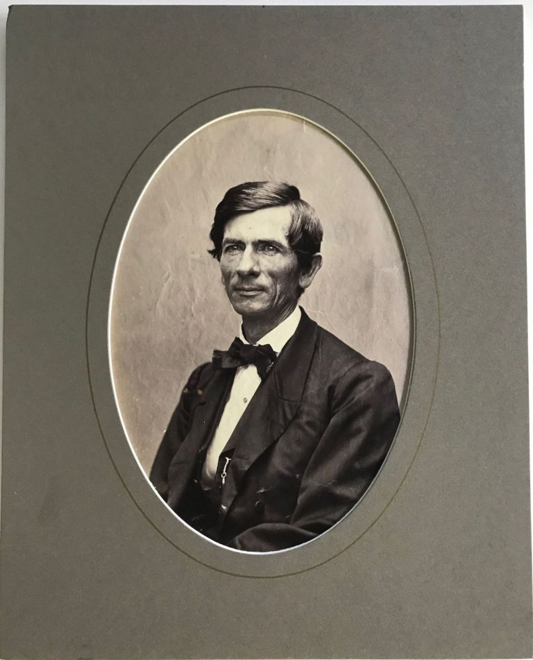 PHOTOGRAPH OF GEORGE WHITEFIELD SAMSON, PASTOR OF E STREET BAPTIST CHURCH IN WASHINGTON D.C., AND FIFTH PRESIDENT OF COLUMBIAN COLLEGE [now George Washington University, Washington, D.C.]. George Whitefield Samson.