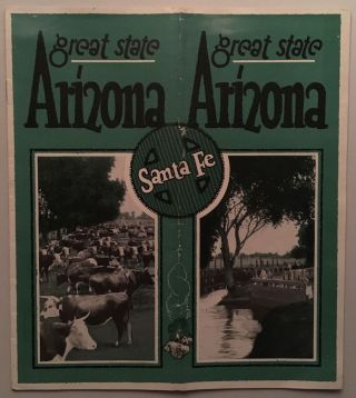Arizona, a Great State [cover title