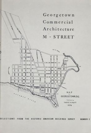 GEORGETOWN COMMERCIAL ARCHITECTURE-M STREET