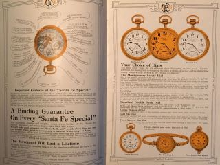 SANTA-FE SPECIAL WATCHES [cover title]