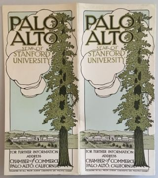 PALO ALTO, SEAT OF STANFORD UNIVERSITY. (cover title)