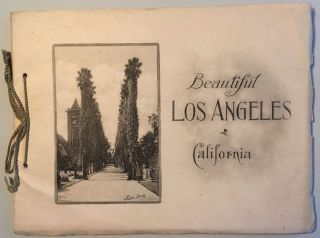 BEAUTIFUL LOS ANGELES, CALIFORNIA. PHOTO-GRAVURES
