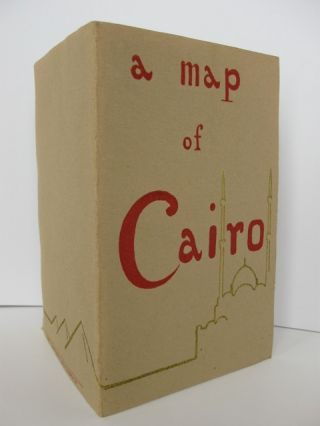 A Map of Cairo [cover title