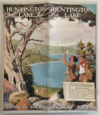 HUNTINGTON LAKE [cover title
