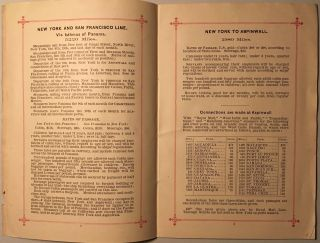 PACIFIC MAIL STEAMSHIP COMPANY: PASSAGE RATES AND GENERAL REGULATIONS; ALL RATES AND DATES IN THE FOLLOWING TABLES ARE SUBJECT TO CHANGE.