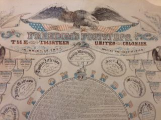 FREEDOM'S FOOTSTEPS: THE THIRTEEN UNITED COLONIES.