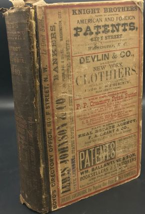 Boyd's Directory of the District of Columbia, Together with a Compendium of Its Governments,...