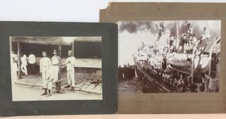 PHOTO ARCHIVE OF THE TWENTIETH KANSAS VOLUNTEER INFANTRY'S SERVICE IN THE PHILIPPINE AMERICAN WAR, 1898-1899, ALL PRESUMABLY FROM THE ESTATE OF LT. COL. EDWARD C. LITTLE WHO COMMANDED THE FIRST BATTALION UNDER COL. FREDERICK FUNSTON.