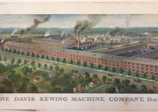 THE DAVIS SEWING MACHINE COMPANY, DAYTON, OHIO, U.S.A. [caption title]