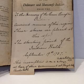 AN ENQUIRY INTO THE CAUSES OF THE ALIENATION OF THE DELAWARE AND SHAWANESE INDIANS FROM THE BRITISH INTEREST, AND INTO THE MEASURES TAKEN FOR RECOVERING THEIR FRIENDSHIP... TOGETHER WITH THE REMARKABLE JOURNAL OF CHRISTIAN FREDERIC POST....