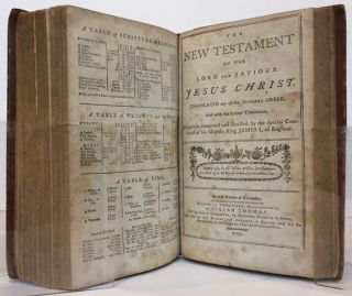 The Holy Bible, Containing the Old and New Testaments. Translated out of the Original Tongues, and with the former translations diligently compared and revised, by the Special Command of King James I, of England.