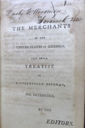 A SYSTEM OF EXCHANGE WITH ALMOST ALL PARTS OF THE WORLD. To which is added, The India Directory for Purchasing The Drugs and Spices of the East Indies, &c.
