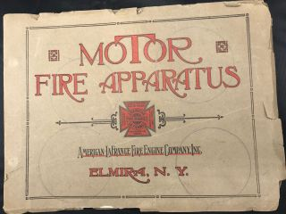 MOTOR APPARATUS FOR FIRE DEPARTMENT SERVICE. STRENGTH, POWER, BALANCE. Built by American -...