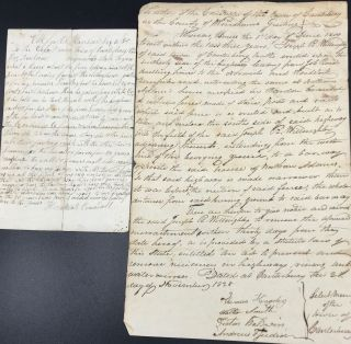 BOUNDARY DISPUTES ASSOCIATED WITH CRANDALL FAMILY MEMBERS, CANTERBURY, CONNECTICUT. TWO LEGAL...