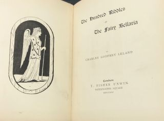THE HUNDRED RIDDLES OF THE FAIRY BELLARIA
