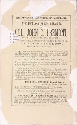 THE REPUBLICAN POCKET PISTOL. A Collection of Facts for Freeman.