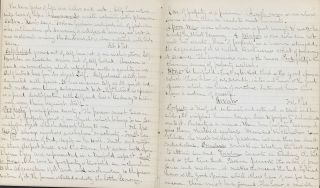 MANUSCRIPT LECTURE NOTES FOR FRANKLIN & MARSHALL COLLEGE STUDENT A.B. DUNDOR, SEPT. 1860 – FEB. 1861, & SEPT. 1861 - 0CT. 1861