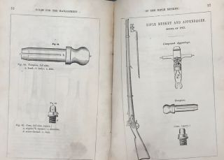 RULES FOR THE MANAGEMENT AND CLEANING OF THE RIFLE MUSKET, MODEL 1863, For the Use of Soldiers, with Descriptive Plates. Adopted by the War Department for the Government of the United States Troops.