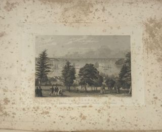 THE PICTURESQUE BEAUTIES OF THE HUDSON RIVER AND ITS VICINITY; Illustrated in a Series of Views, from Original Drawings, Taken Expressly for This work, and Engraved on Steel, by Distinguished Artists.; With Historical and Descriptive Illustrations.