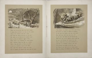 A VISIT FROM SAINT NICHOLAS.; Illustrated from drawings by F.O.C. Darley. N[athaniel] Orr Co. [Engraver]
