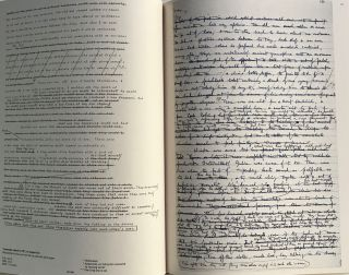 NINETEEN EIGHTY-FOUR: The Facsimile of the Extant Manuscript; Edited by Peter Davidson